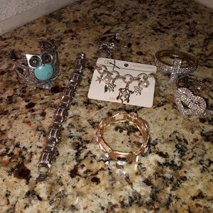 7 GORGEOUS bracelet lot!!!!